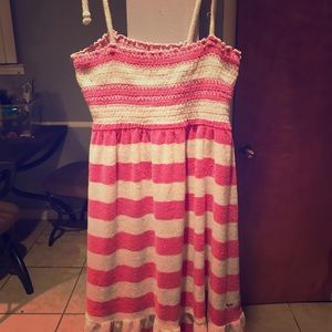 Victoria's Secret pink bathing suit cover up